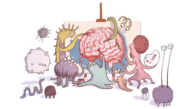 The microbiota regulate neuronal function and fear extinction learning